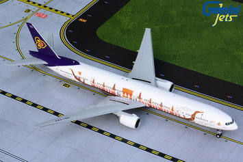 "Gemini200 Thai Airways Boeing 777-300 ""Royal Barge"" picture"