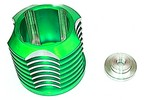 G70341, Cooling Head for GX1(Green)