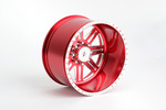 CKR0523, American Force Legend SS8 CNC Forged Wheel -18 Offset (Red)