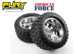 American Force Legend SS8 Wheels  Fury Mountain M/T Tires (Pre-glued)