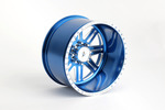 CKR0521, American Force Legend SS8 CNC Forged Wheel -18 Offset (Blue)