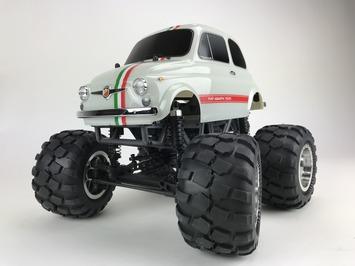 8912 Fiat ABARTH 595 1/12 Soild Axle Monster Truck picture