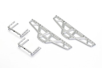 CKQ0405, Matte Silver Chassis plate (275mm Wheelbase) picture