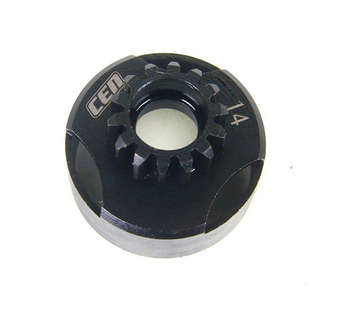 MXS18, Steel Vented Clutch Bell (14T) (Upgrade for MX055) picture
