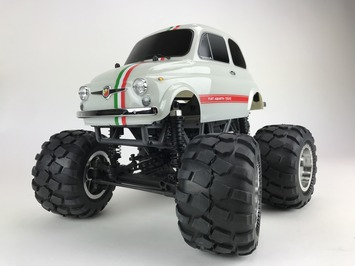 Fiat ABARTH 595 1/12 Soild Axle Monster Truck picture