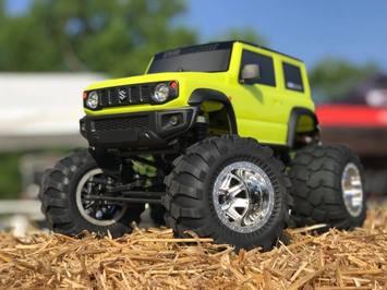 8936 2019 Suzuki Jimny 1/12 Soild Axle Monster Truck picture