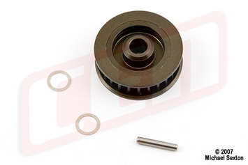 CTS29, Aluminum Pulley T25 (Upgrade for CT043) picture