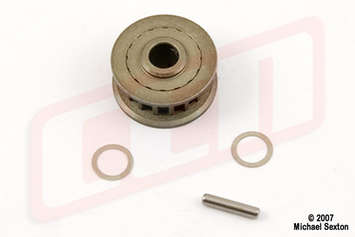 CTS17, Alum. Pulley T17 (Upgrade for MX044) picture