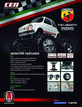 8912 Fiat ABARTH 595 1/12 Soild Axle Monster Truck additional picture 1