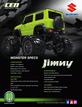 8936 2019 Suzuki Jimny 1/12 Soild Axle Monster Truck additional picture 2