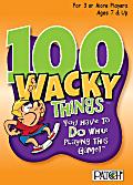 100 Wacky video