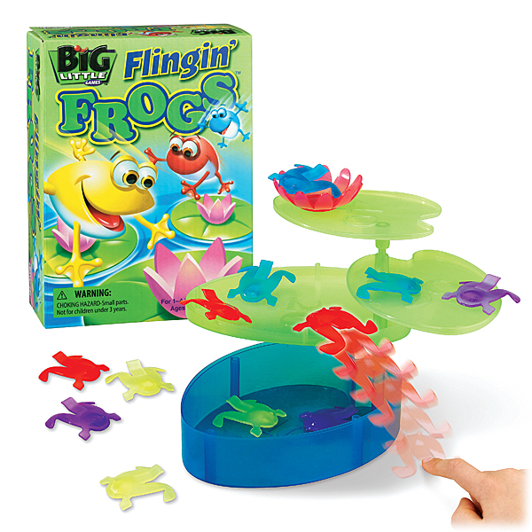 Flingin' Frogs with contents