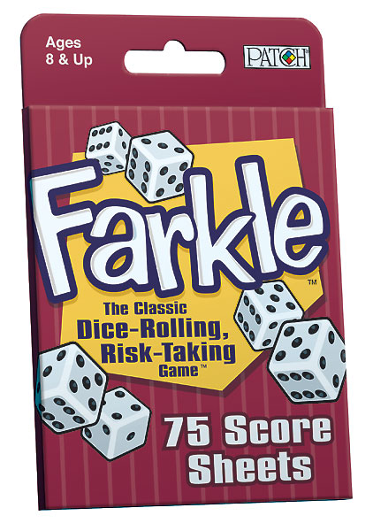 farkle score pad