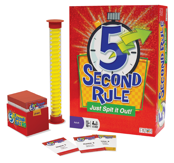 5 Second Rule contents