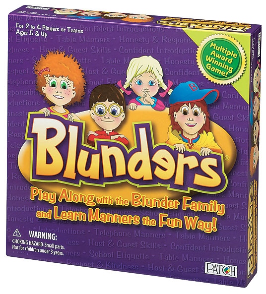 Blunders Game Box