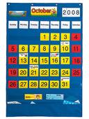 Calendar Pocket Chart (English/Spanish)