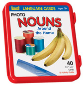 Nouns (Around the Home) Language Cards