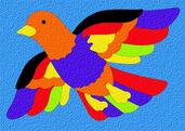 Lauri® Crepe Rubber Puzzle Bird