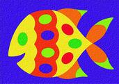Lauri® Crepe Rubber Puzzle Fish