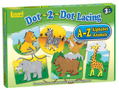 Dot-2-Dot Lacing™ Alphabet Animals