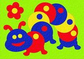 Lauri® Crepe Rubber Puzzle Caterpillar