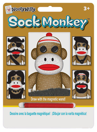 Sock Monkey Wooly Willy® picture