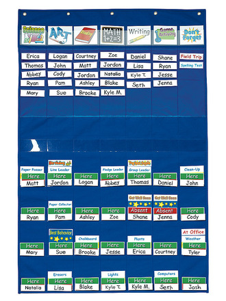 Classroom Management™ Pocket Chart picture