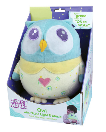 OK to Wake!® Owl with Night-Light and Music picture