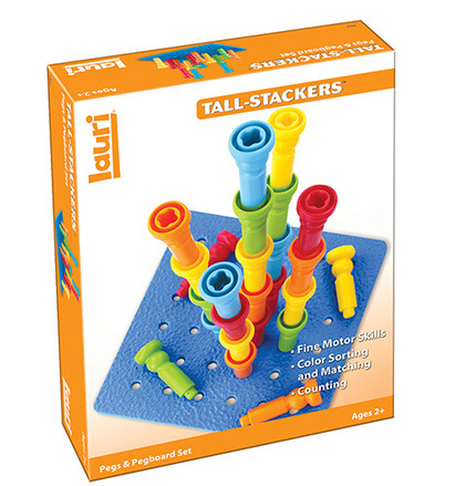 Tall-Stacker™ Pegs & Pegboard Set picture