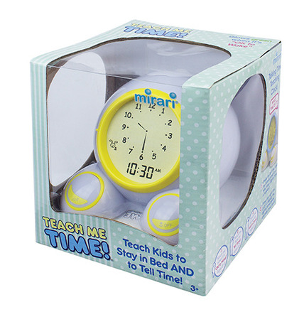 Teach Me Time!® Talking Alarm Clock & Night-Light picture