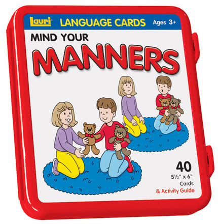Mind Your Manners Language Cards picture