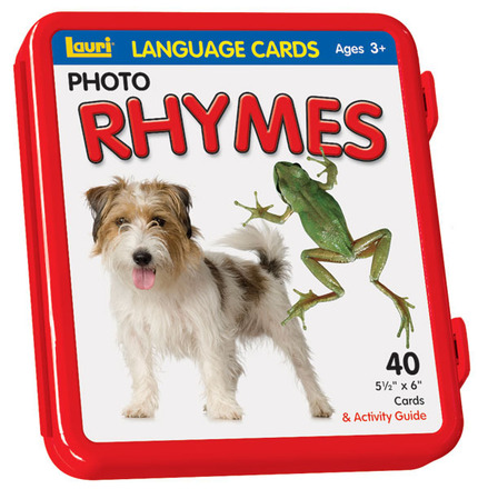 Rhymes Language Cards picture