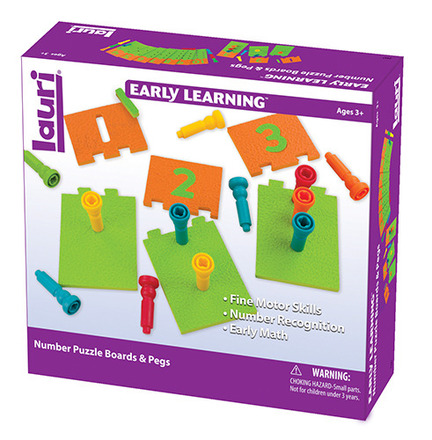 Number Puzzle Boards & Pegs picture