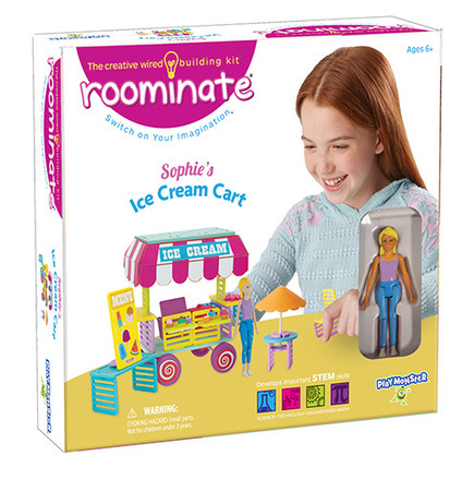 Roominate® Sophie's Ice Cream Cart picture