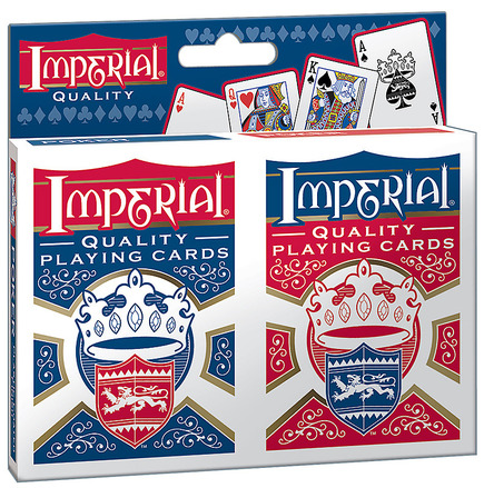 Imperial® Twin Pack Poker Playing Cards picture