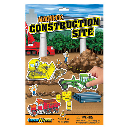 Create A Scene™ Magnetic Construction Site™ picture