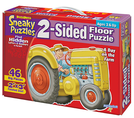Sneaky Puzzles® A Day on the Farm™ picture