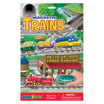 Create A Scene™ Magnetic Trains™ picture