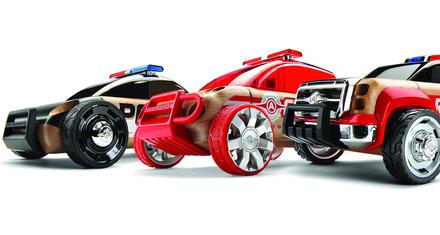 Automoblox™ Mini S9 Police/X9 Fire SUV/T900 Rescue - 3 Pack picture