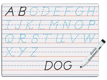 Modern Manuscript Dry Erase Board picture