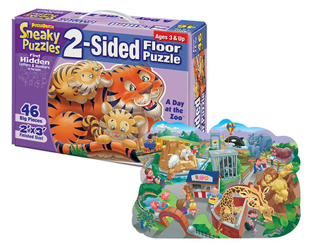 Sneaky Puzzles® A Day at the Zoo™ picture