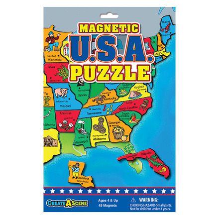 Magnetic USA Puzzle™ picture