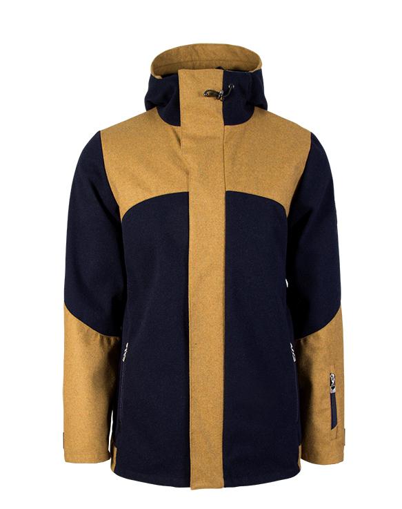 Mustard / Navy (C)