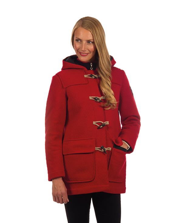 Oslo Knitshell Feminine Duffle Coat WP