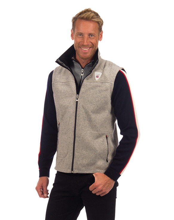 Hafjell Knitshell Masculine Vest WP