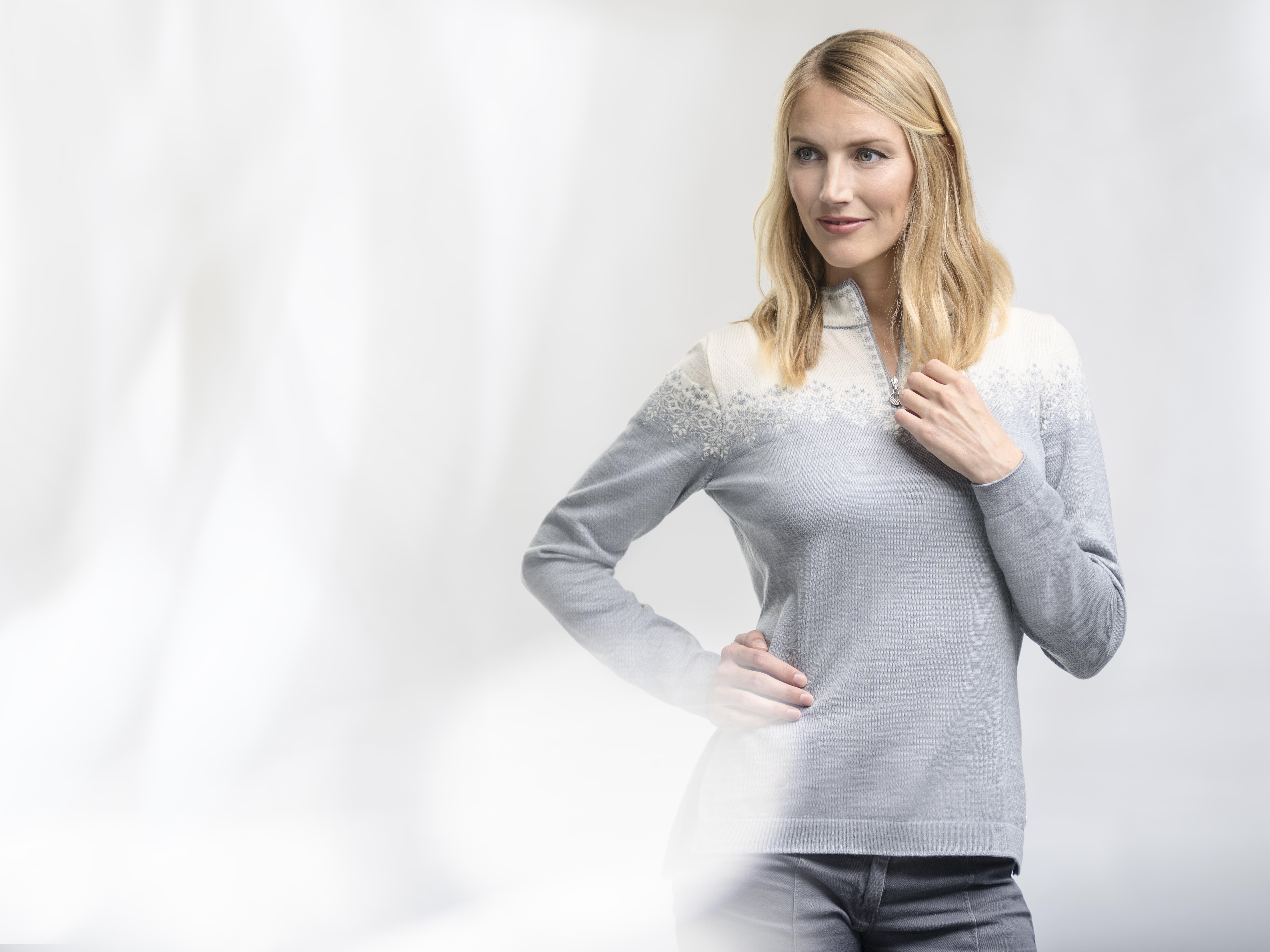 Snefrid Feminine Sweater (1)