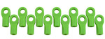 Traxxas Short Rod Ends – Green