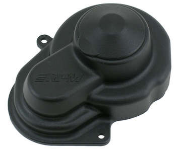 Black Sealed Gear Cover for the Traxxas e-Rustler, e-Stampede 2wd, Bandit & Slash 2wd picture
