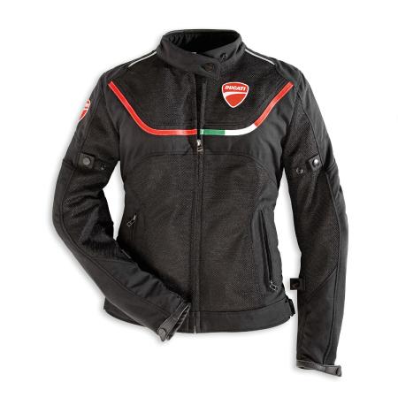 Ducati Women's Flow Textile Jacket - Size 44 (CLOSEOUT) picture