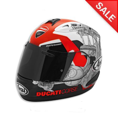 Ducati Corse '14 Helmet - Size XX-Large (SALE) picture